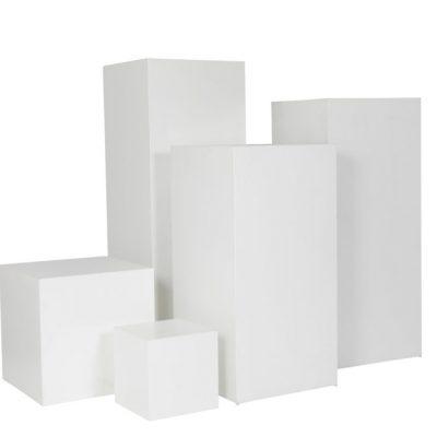 White Plinth