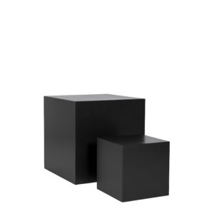 Black Plinth 30cm or 50cm