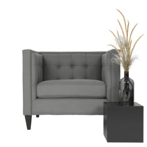 Mr Grey Armchair