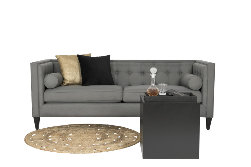 Mr Grey, Linen 3 seater couch $350 v6