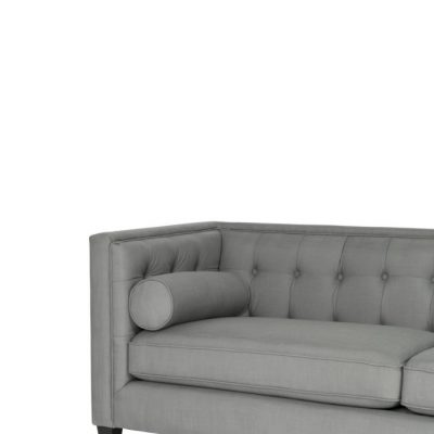 Mr Grey, Linen 3 seater couch