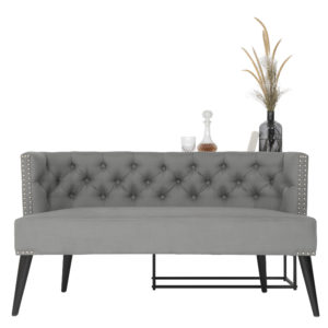 Mr Grey Love Seat