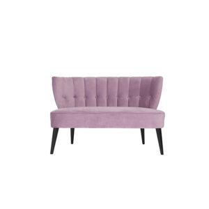 Monte Carlo Pink Lavender Velvet Love Seat