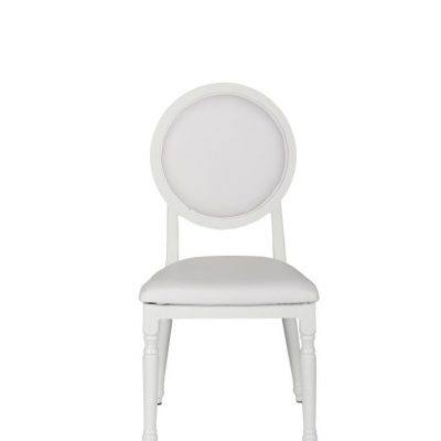 Milano White Dining Chair