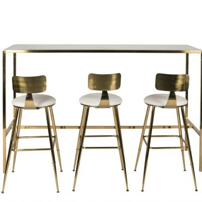 Milano Low-Backed Bar Stool