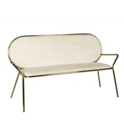 Milano Velvet 3 Seater Lounge